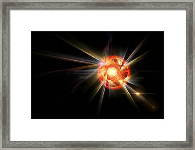 Radiating Sun Framed Print by Pelo Blanco Photo