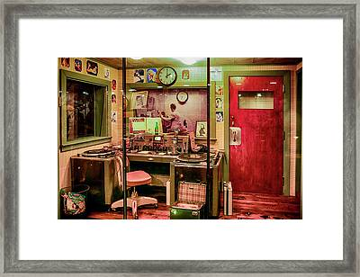 Radio Station Memphis Krmt Framed Print by Chris Smith