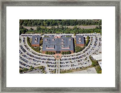 Radnor Financial Center 150 North Radnor Chester Road Radnor Pa 19087 Framed Print by Duncan Pearson
