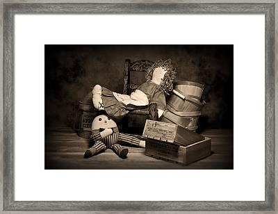 Rag Doll Framed Print by Tom Mc Nemar
