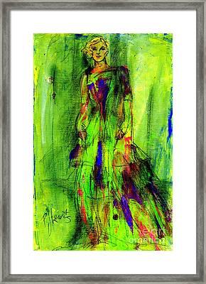 Rags Framed Print by P J Lewis