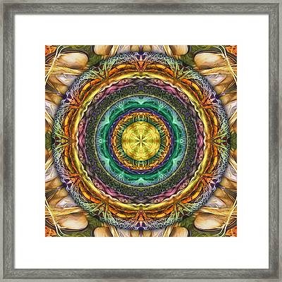 Ragtime Two-step Framed Print by Becky Titus