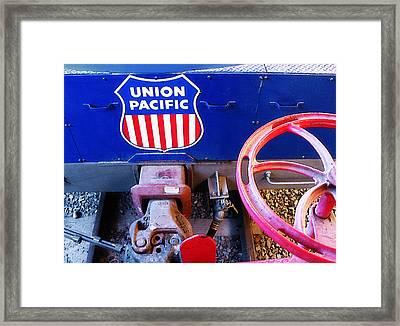 Railroad Museum 4 Framed Print by Steve Ohlsen