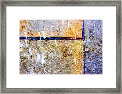 Rain 6876 Framed Print by PhotohogDesigns