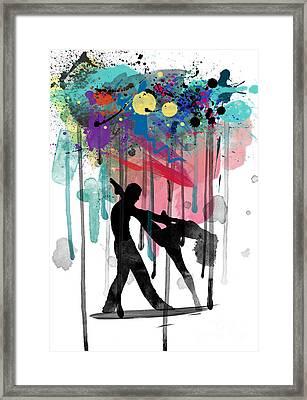 Rain Again  Framed Print by Mark Ashkenazi