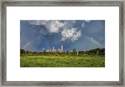 Rainbow 2016 Framed Print by Chris Austin