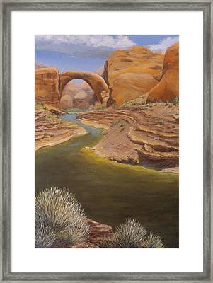 Rainbow Bridge Framed Print by Jerry McElroy