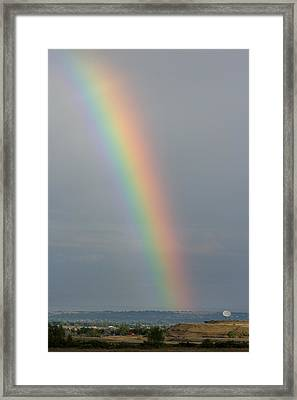 Rainbow Communications Framed Print by James BO  Insogna