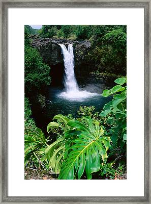 Rainbow Falls Framed Print by Peter French - Printscapes