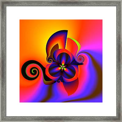 Rainbow Infusion Framed Print by Claude McCoy
