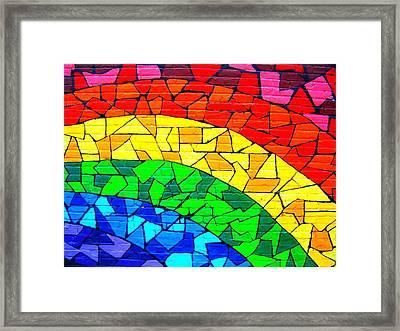 Rainbow ... Framed Print by Juergen Weiss