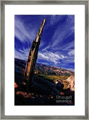 Rainbow Point Framed Print by Blake Richards