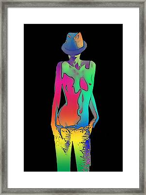 Rainbow Series Framed Print by Tbone Oliver