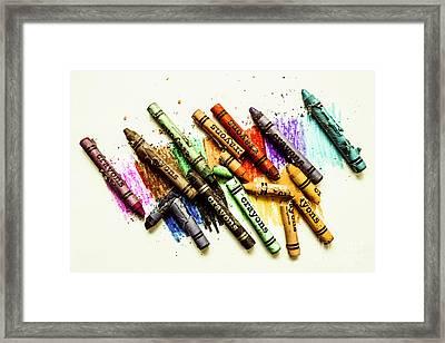 Rainbow Shades Framed Print by Jorgo Photography - Wall Art Gallery