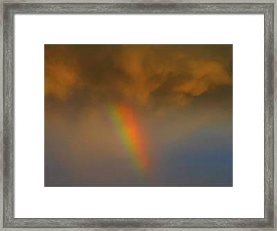 Rainbow Tornado.. Framed Print by Al  Swasey