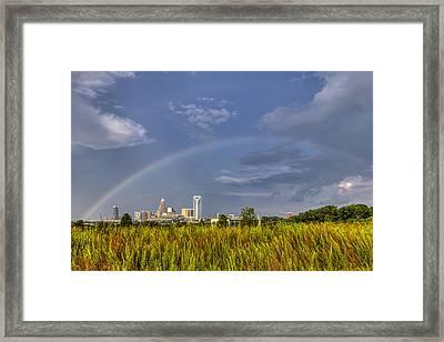 Rainbow V2 Framed Print by Chris Austin