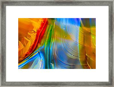 Rainbow Waterfalls Framed Print by Omaste Witkowski