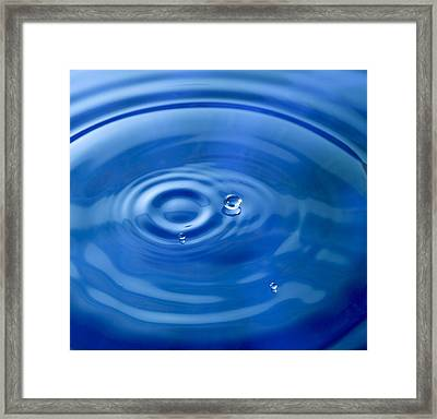 Raindrops Keep Falling Framed Print by Frank Tschakert