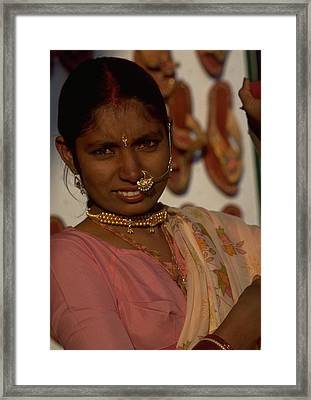 Framed Print featuring the photograph Rajasthan by Travel Pics