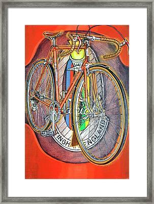 Raleigh Gran Sport Framed Print by Mark Howard Jones