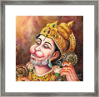 Rama Naama Japo Framed Print by Murali
