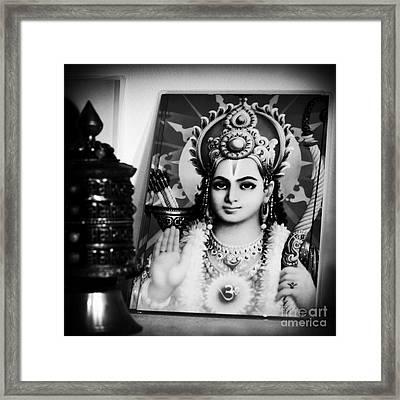 Rama  Framed Print by Sharon Mau