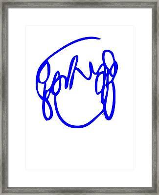 Ramona Flowers Blue - Scott Pilgrim Vs The World Framed Print by Paul Telling