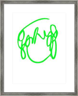 Ramona Flowers Green - Scott Pilgrim Vs The World Framed Print by Paul Telling