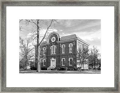 Randolph- Macon College Franklin Hall Framed Print by University Icons