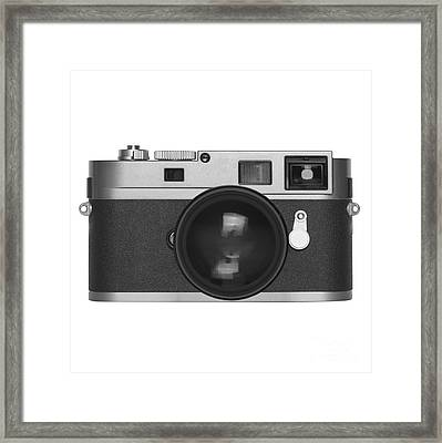 Rangefinder Camera Framed Print by Setsiri Silapasuwanchai