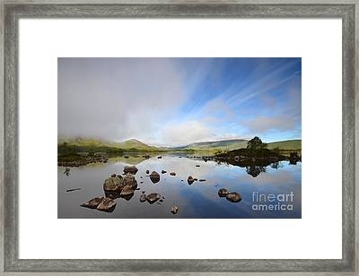 Rannoch Moor Framed Print by Stephen Smith