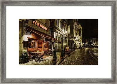 Raphael Framed Print by Torkil Storli