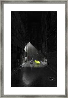 Rapture Framed Print by Cynthia Decker