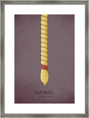 Rapunzel Framed Print by Christian Jackson