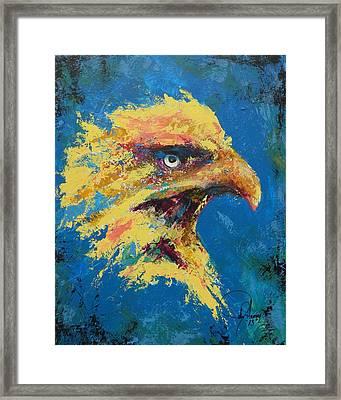 Rare Eagle Framed Print by John Henne