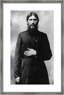 Rasputin The Mad Monk Framed Print by War Is Hell Store