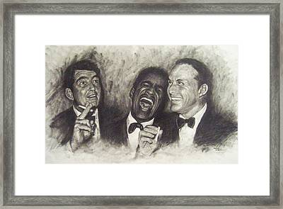 Rat Pack Framed Print by Cynthia Campbell