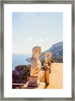 Ravello Amalfi Coast Italy Framed Print by Ariane Moshayedi