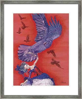 Ravenous Framed Print by Vlasta Smola