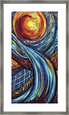 Ray Of Hope 3 Framed Print by Harsh Malik