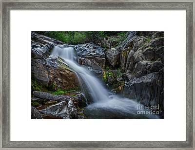 Raymond Meadows Creek Framed Print by Dianne Phelps