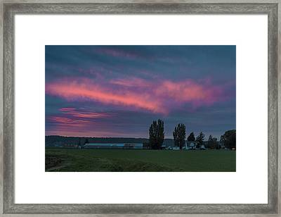 Rays Of Hope Framed Print by Ryan McGinnis