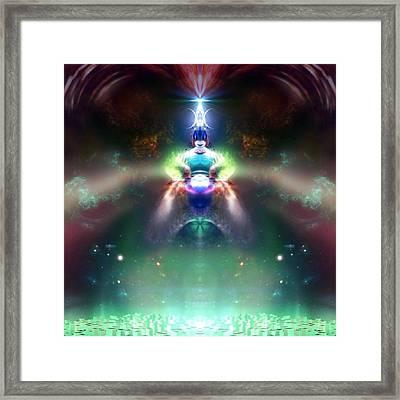 Raziel Framed Print by Raymel Garcia