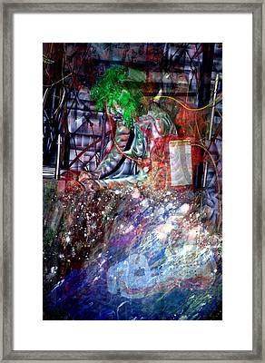 Re-programming II Framed Print by Leigh Odom