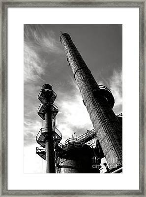 Reach Framed Print by Olivier Le Queinec