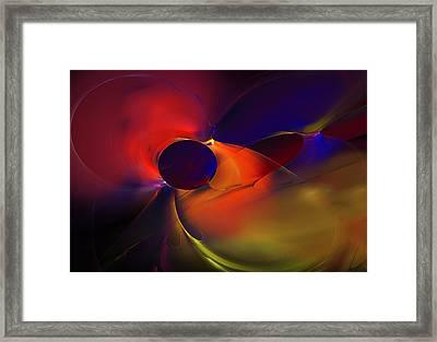 Reaching Framed Print by David Lane