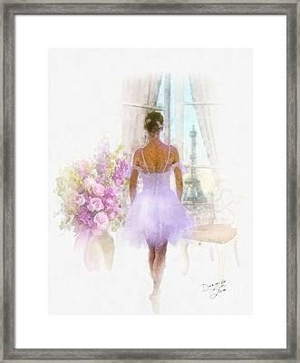 Ready Framed Print by Mo T