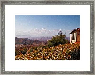 Reagan Library Overlook Framed Print by Glenn McCarthy Art and Photography