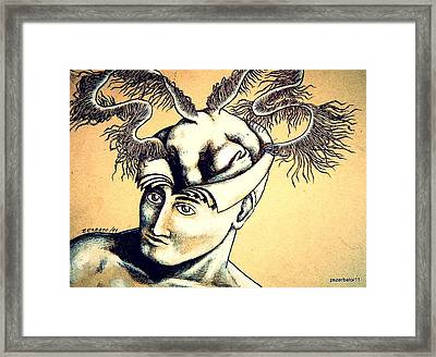 Realization Inner Self Of The Being Framed Print by Paulo Zerbato