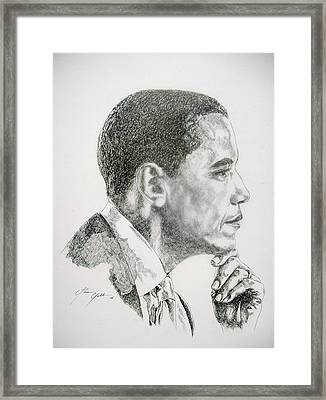 Realizing A Dream Framed Print by Otis  Cobb